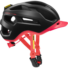 Mavic Echappée Trail Pro Fietshelm Dames, pirate black/fiery coral